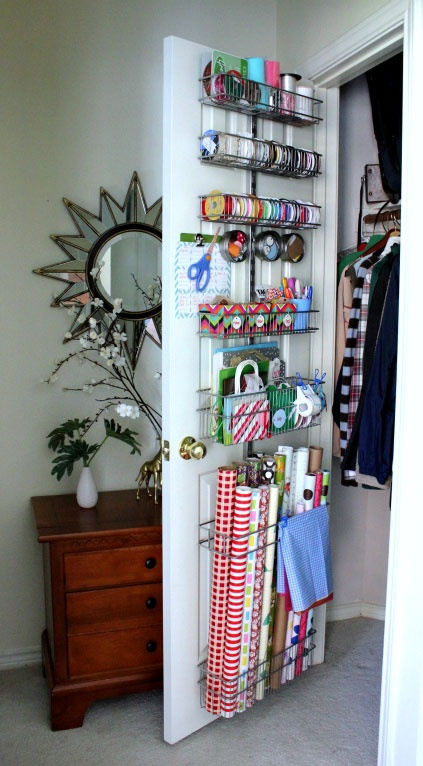 Power Home Solutions 12 Ways To Organize Wrapping Paper